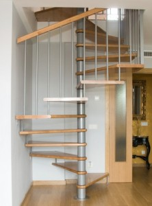 Escalier colimançon carré