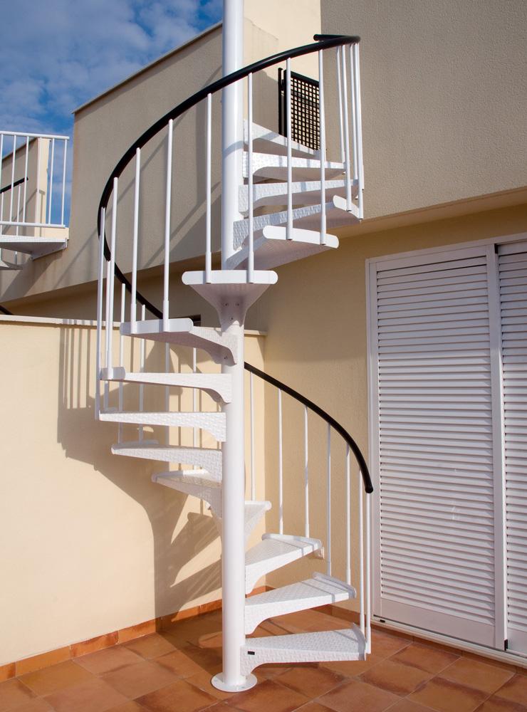 Escalier colimaçon exit