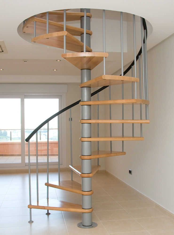 Escalier colimaçon masi