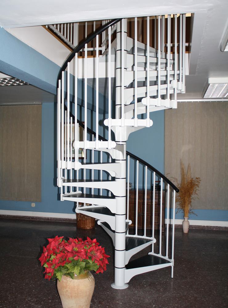 Escalier colimaçon mix